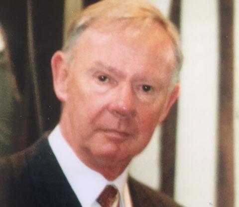 Photo of John O'Donovan. Club President 1980 - 1982.